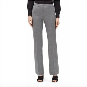 Lafayette 148 | Stretch Wool Pleated Dress Pants